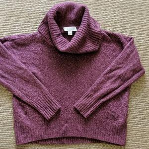 Michael Kors Wool Blend Cowl Sweater Pullover Med
